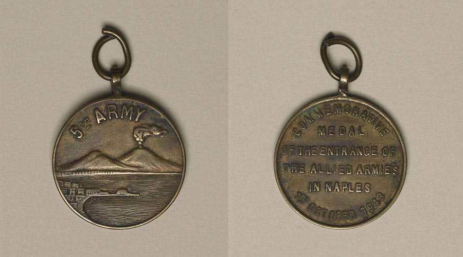 front and back of medal