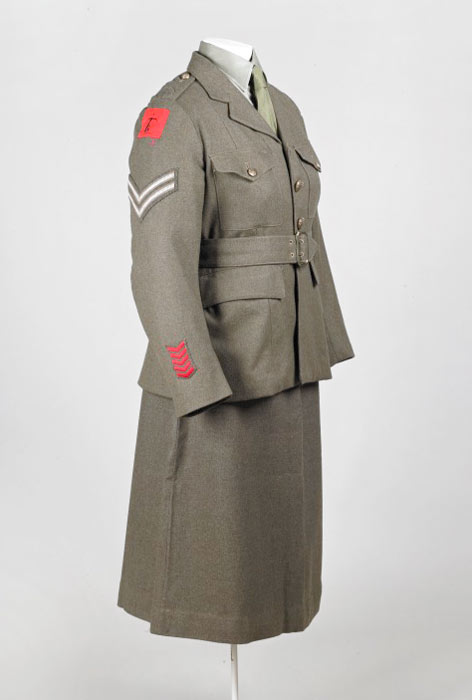 army uniform with skirt