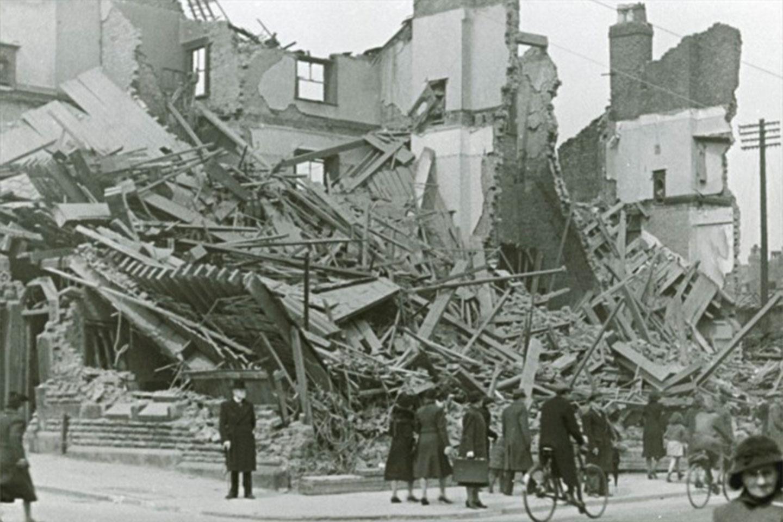 Liverpool Blitz photographs