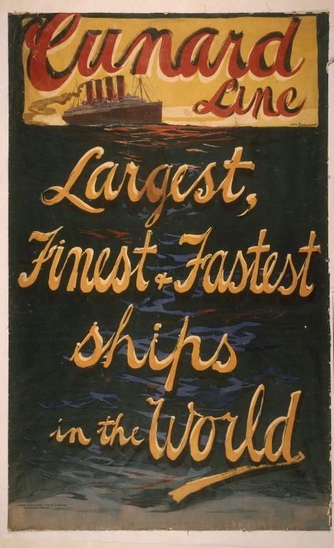 Lusitania - Maritime Art