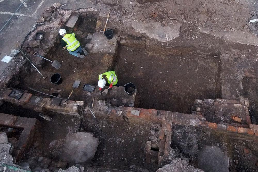 Oakes Street excavation