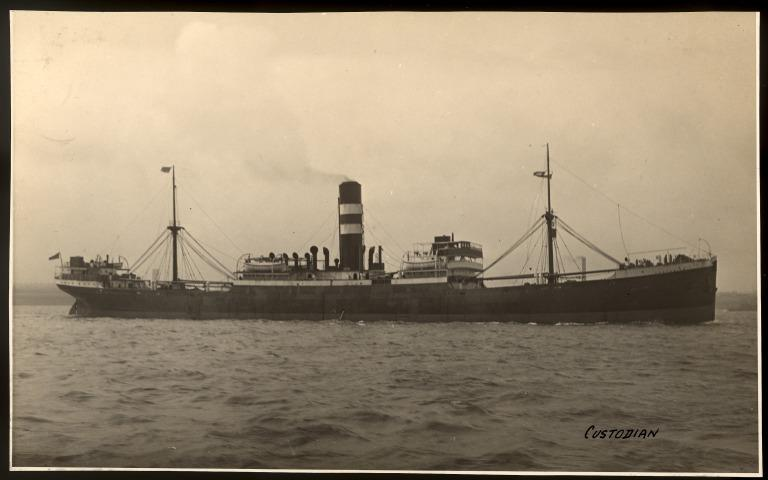 Photograph of Custodian, T and J Harrison Ltd card