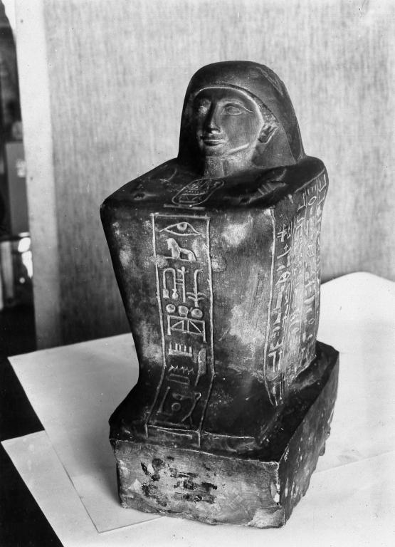 Statue of Amenemheb card