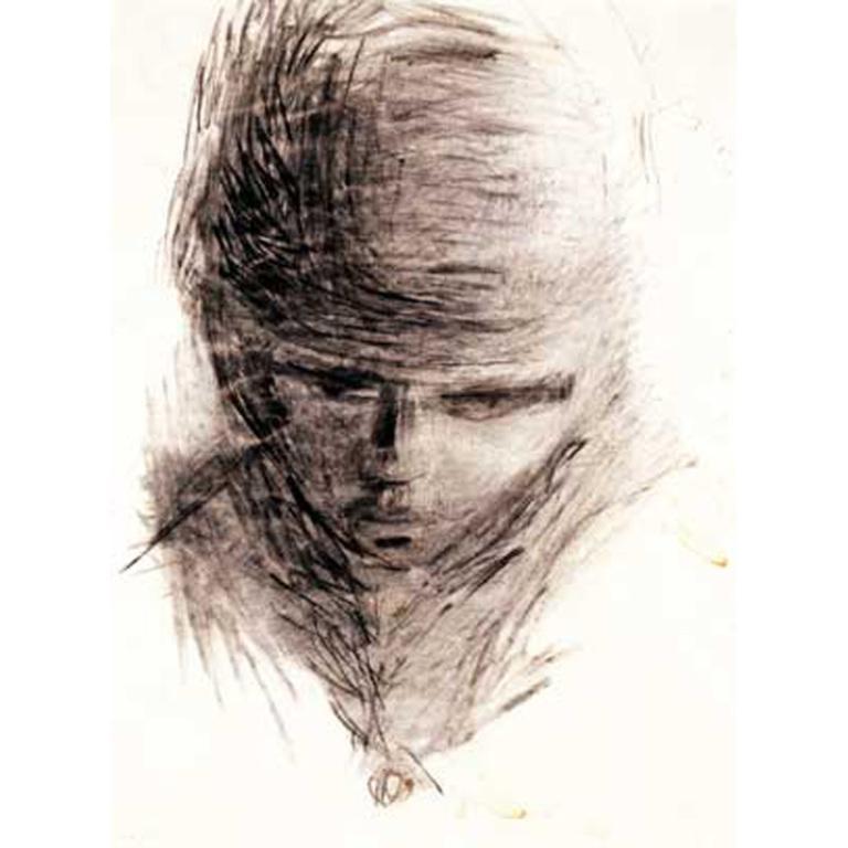 Self portrait by Stuart Sutcliffe card