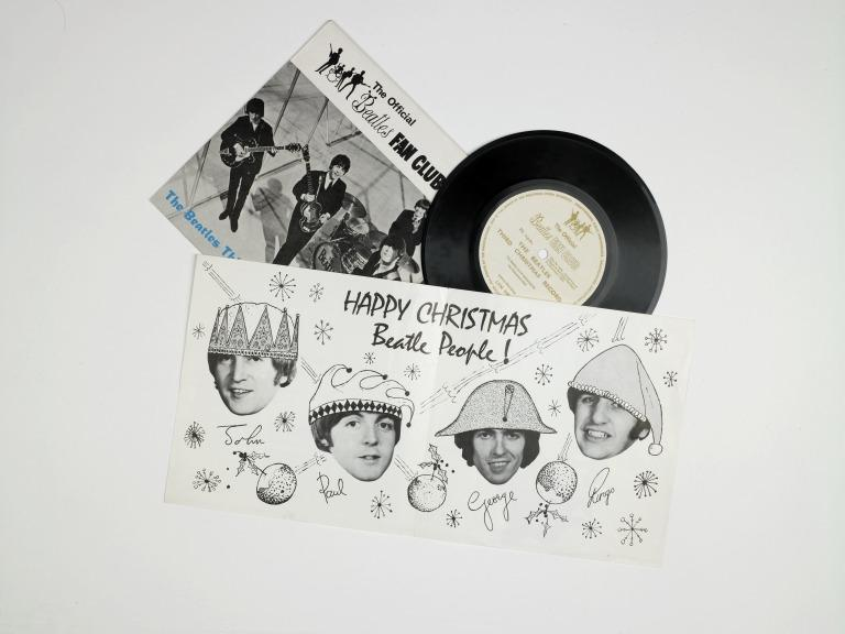 The Beatles Third Christmas Record, 1965 card