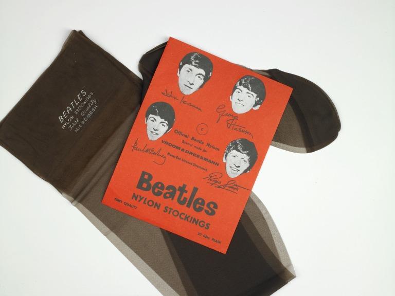 The Beatles nylon stockings card