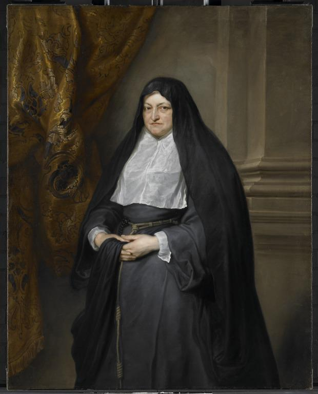 Portrait of the Infanta Isabella Clara Eugenia card