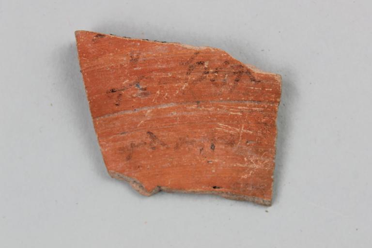Coptic Ostracon card