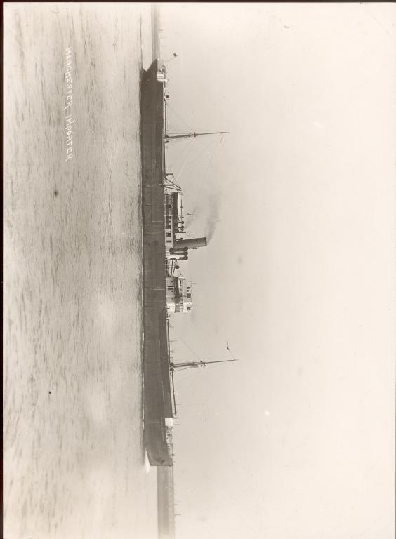 Photograph of Manchester Importer, Manchester Liners card