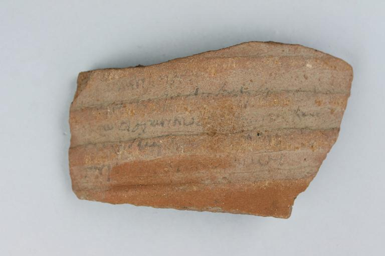 Greek Ostracon card