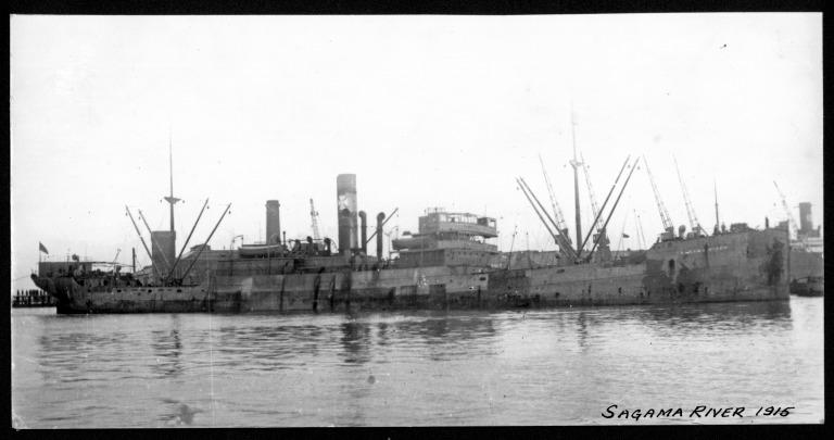 Photograph of Sagama River, Houlder Line card