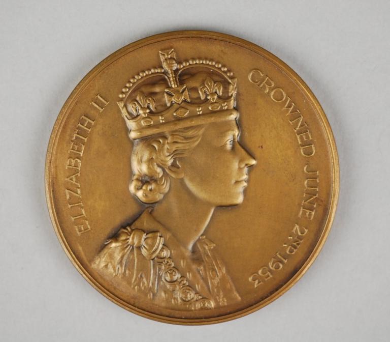 Commemorative Medal - HM Queen Elizabeth II Coronation, 1953 card