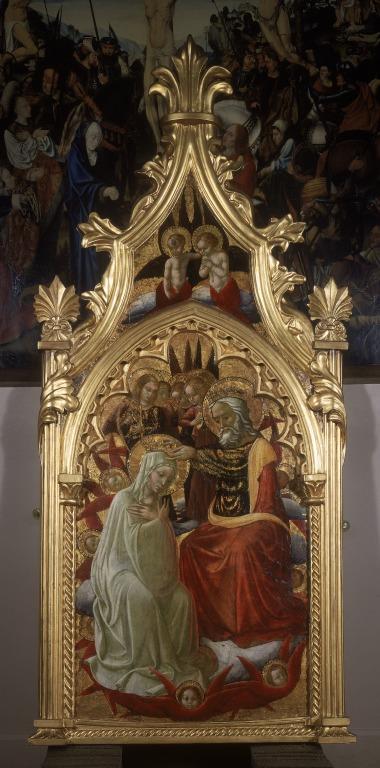 Coronation of the Virgin card