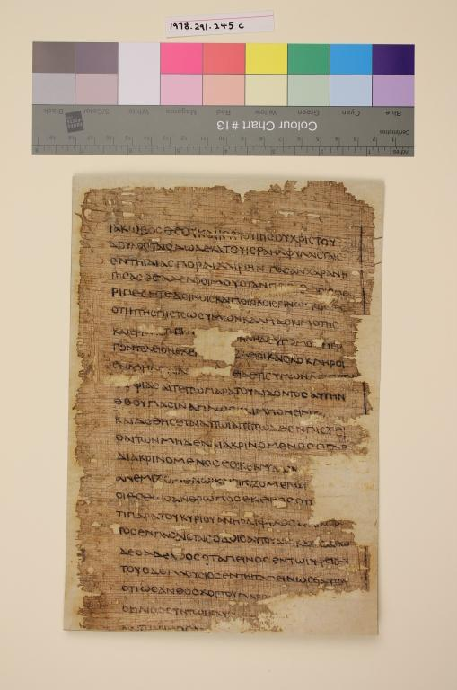 Epistle of James (Forgery) card