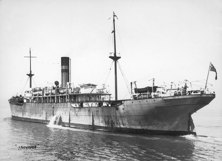 Photograph of Umvuma, Bullard King and Company card