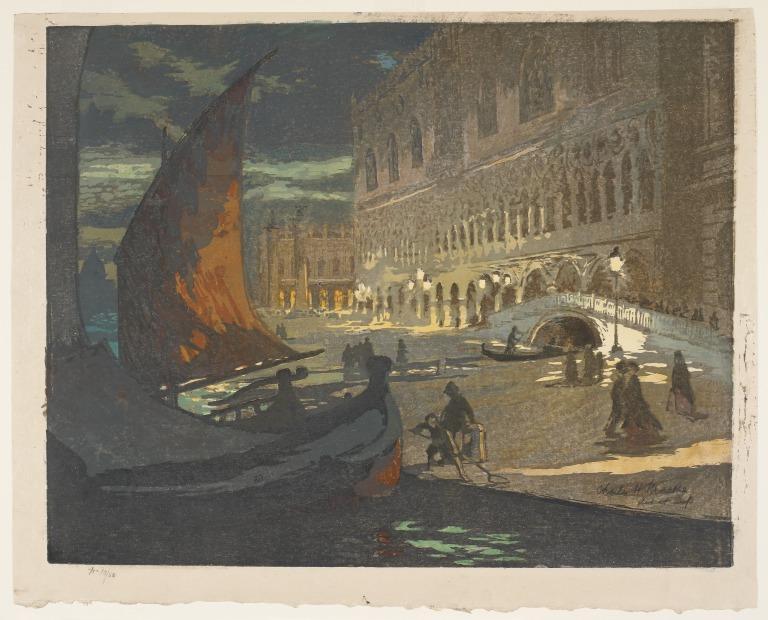 The Ducal Palace, Venice card