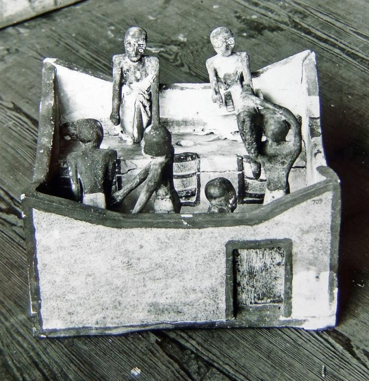 Model of a Granary card
