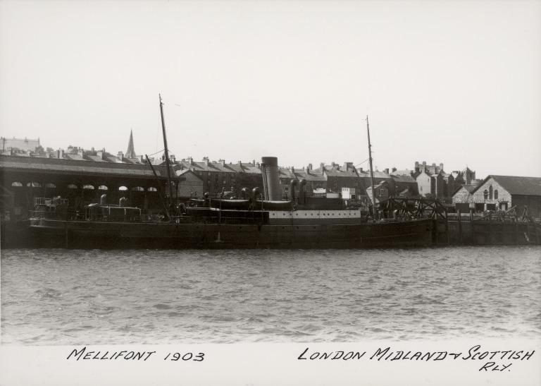 Photograph of Mellifont, London Midland and Scottish Railway card