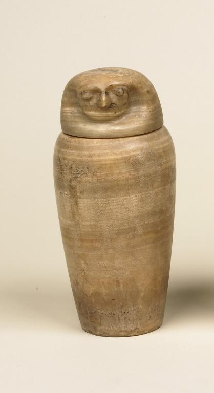 Canopic Jar and Lid card