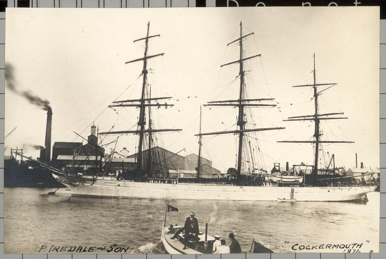 Photograph of Cockermouth, P Iredale and Son (Liverpool) card