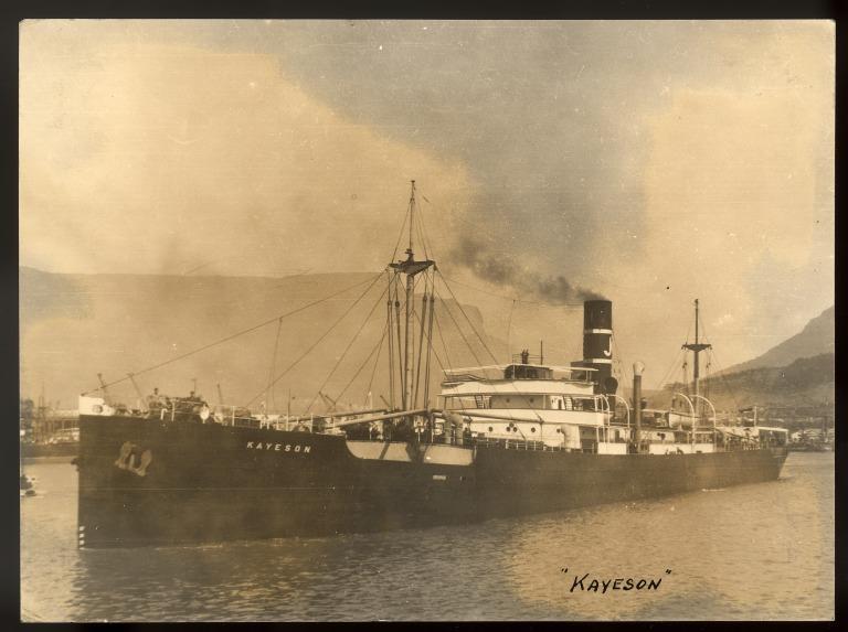 Photograph of Kayeson, Kaye Son and Company card