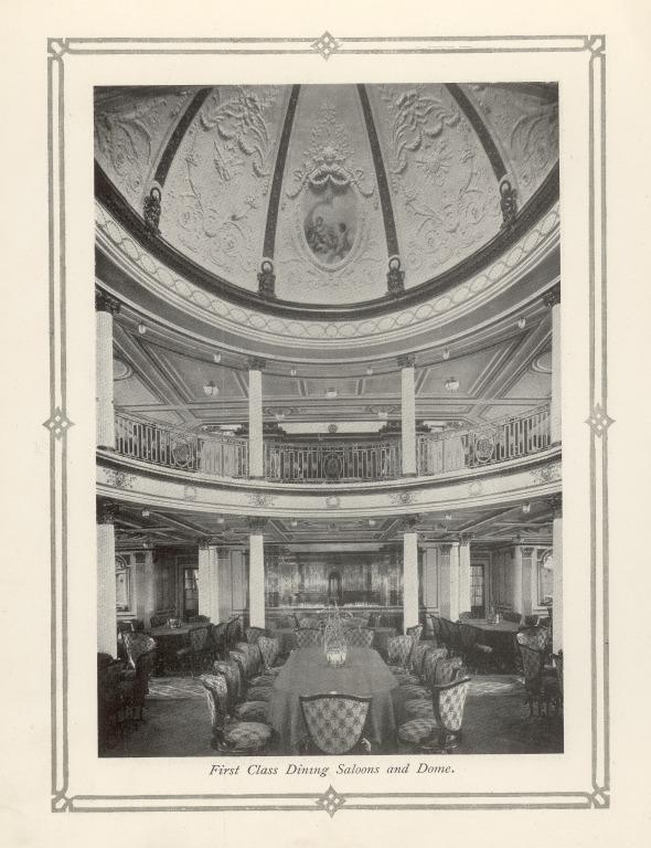 Liner ephemera etc re Lusitania and QE2, Cunard card