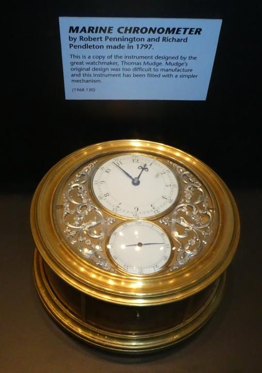 Chronometer card