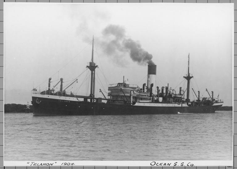 Photograph of Telamon, Alfred Holt card