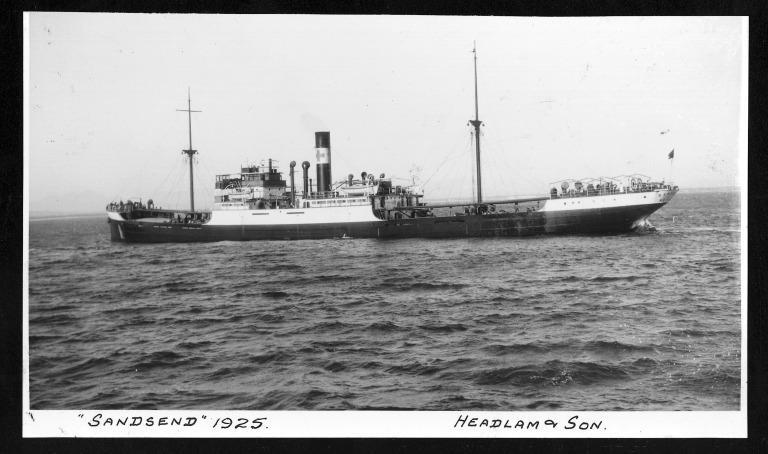 Photograph of Sandsend, Headlam and Son card