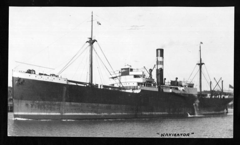 Photograph of Navigator, T and J Harrison Ltd card