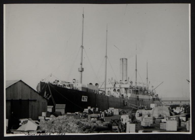 Photograph of Monteagle, Beaver Line card