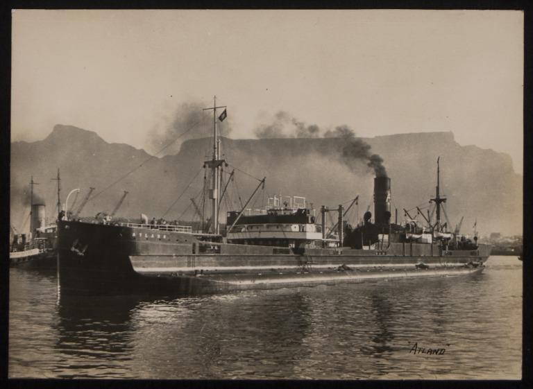 Photograph of Atland, A/B Tirfing (Axel Brostrom) card