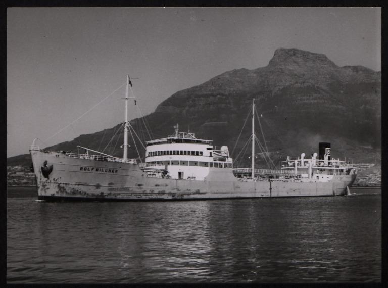 Photograph of Rolf Billner (ex Oceanus), Billners Rederi A/B card