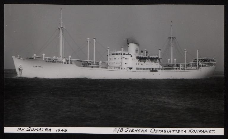 Photograph of Sumatra, A/B Svenska Ostasiatiska Kompaniet card