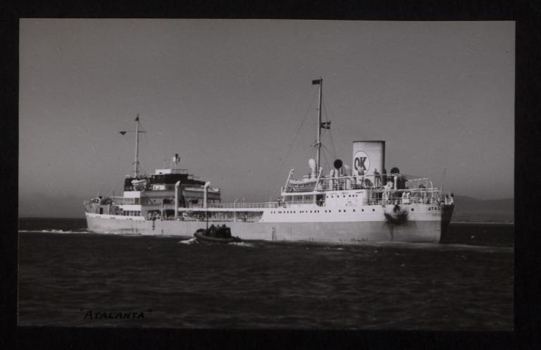 Photograph of Atalanta, Rederiaktieb Activ card