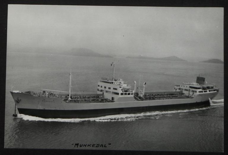 Photograph of Munkedal, Munkedals A/B card