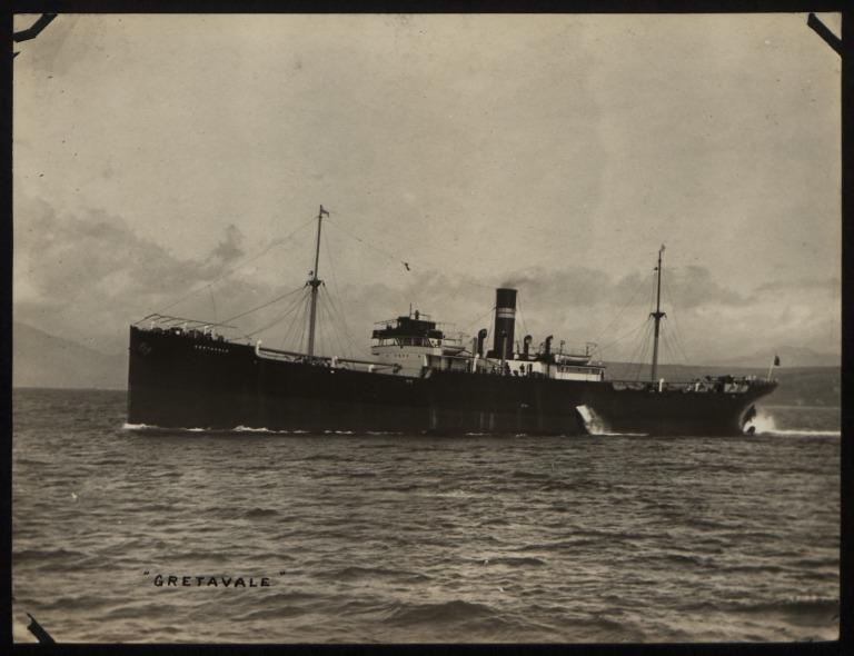 Photograph of Gretavale, A Crawford and Company card