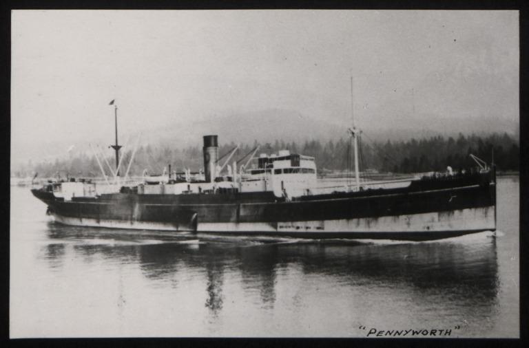 Photograph of Pennyworth, R S Dalgliesh card