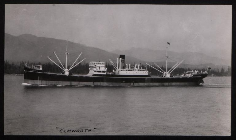 Photograph of Elmworth, R S Dalgliesh card