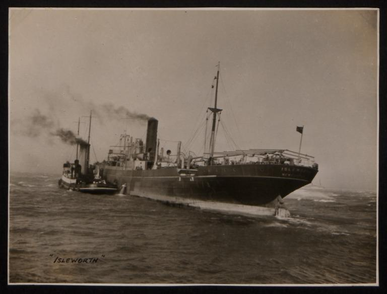 Photograph of Isleworth, R S Dalgliesh card