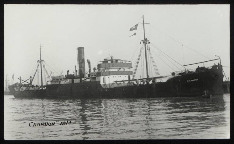 Photograph of Crandon, Crandon Shipping Co Ltd card