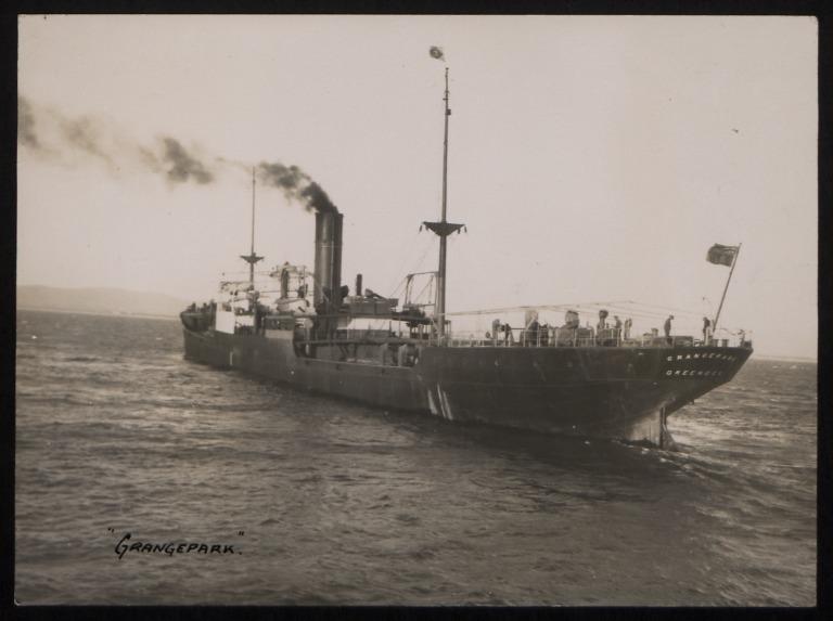 Photograph of Grangepark, J and J Denholm card