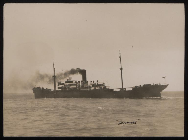 Photograph of Holmpark, J and J Denholm card