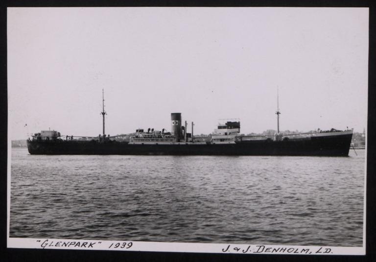 Photograph of Glenpark, J and J Denholm card