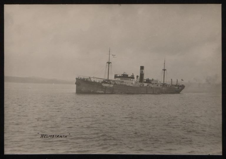 Photograph of Helmstrath, E C Downing card