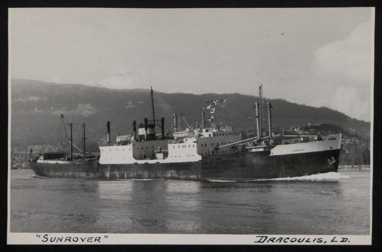 Photograph of Sunrover, Dracoulis Ltd card