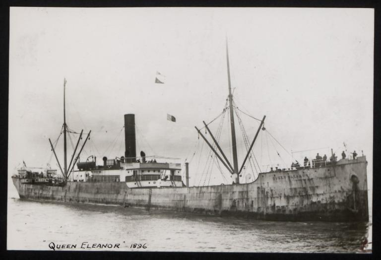 Photograph of Queen Eleanor, Thomas Dunlop and Sons card