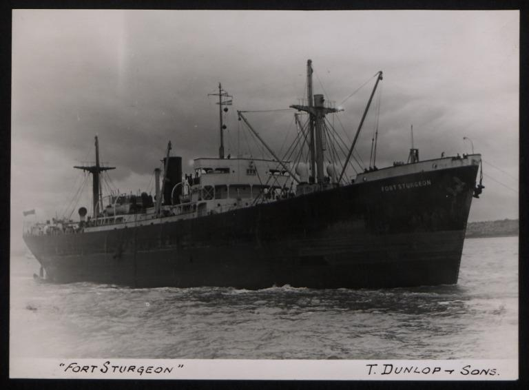 Photograph of Fort Sturgeon, Thomas Dunlop and Sons card