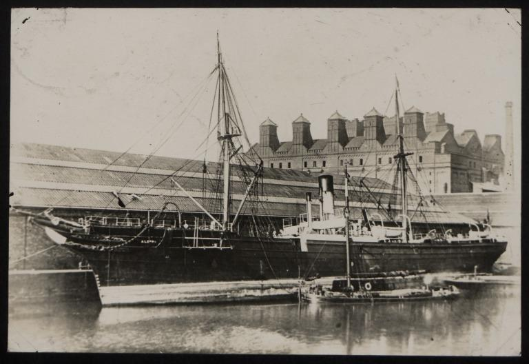 Photograph of Aleppo, Cunard Line card