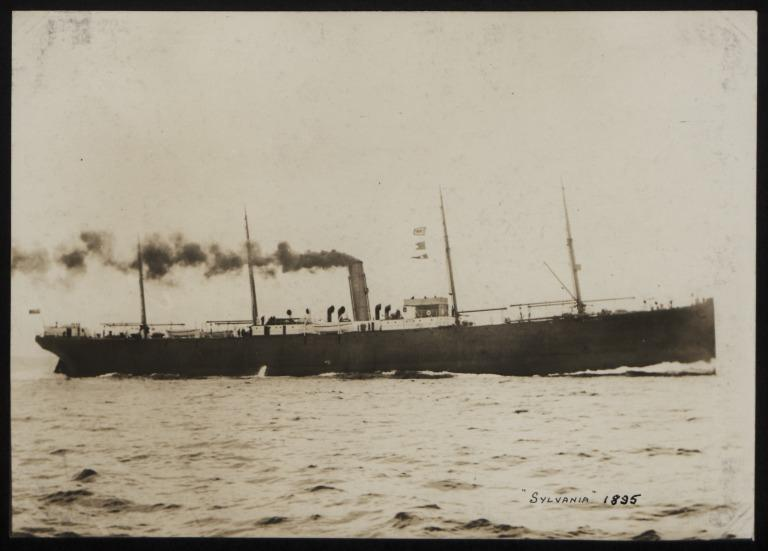 Photograph of Sylvania, Cunard Line card